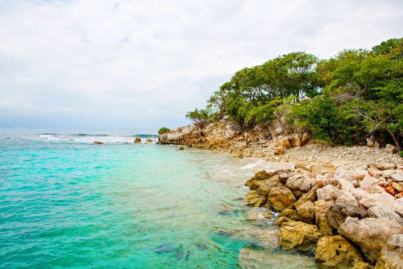 Παραλία και τροπικό θέρετρο, νησί Labadee, Αϊτή στοκ εικόνες με δικαίωμα ελεύθερης χρήσης