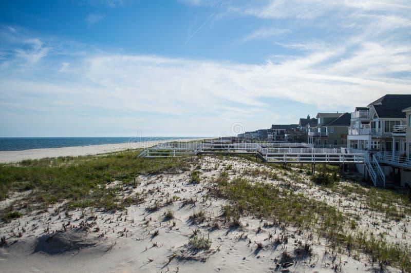 Παραλία καλοκαίρι σπιτιών †«στο Hamptons στοκ φωτογραφία με δικαίωμα ελεύθερης χρήσης