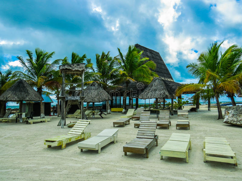 παραλία κενή στοκ φωτογραφία με δικαίωμα ελεύθερης χρήσης