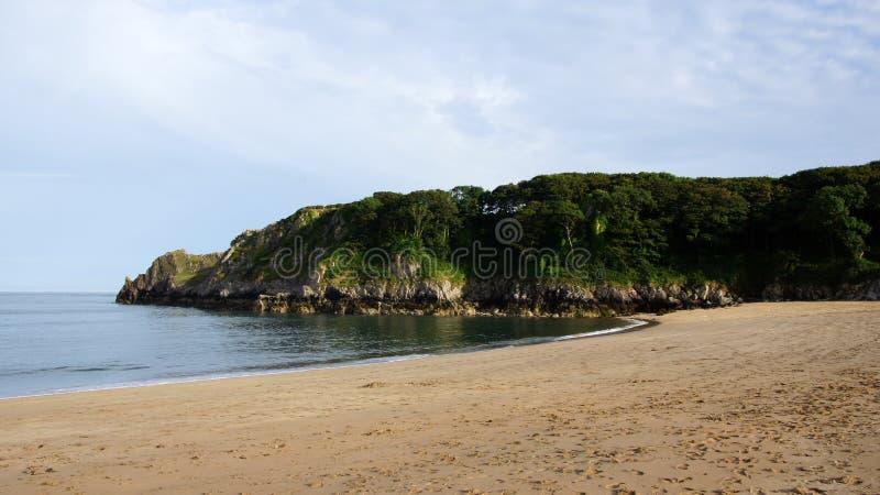 Παραλία κόλπων Barafundle στοκ φωτογραφία με δικαίωμα ελεύθερης χρήσης