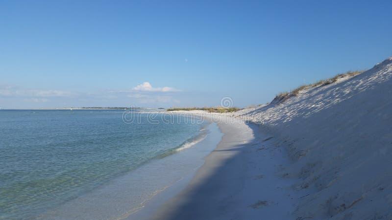 Παραλία κόλπων Perdido στοκ φωτογραφία με δικαίωμα ελεύθερης χρήσης