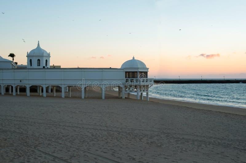 Παραλία Λα Caleta στοκ φωτογραφία