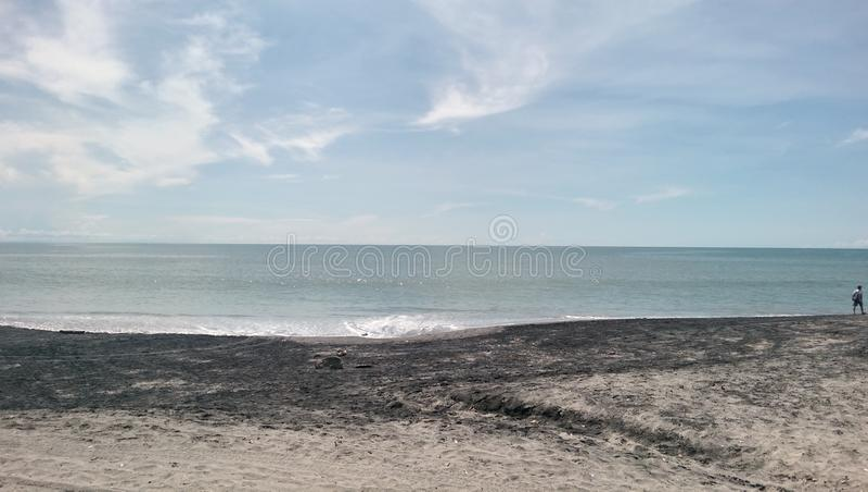 Παραλία Παναμάς Esmeralda πλευρών στοκ εικόνες με δικαίωμα ελεύθερης χρήσης