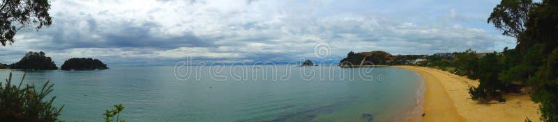 παραλία πανοραμική στοκ φωτογραφίες