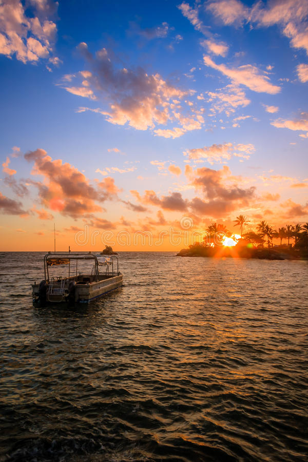 Παραλία σε Noumea, Νέα Καληδονία στοκ εικόνες