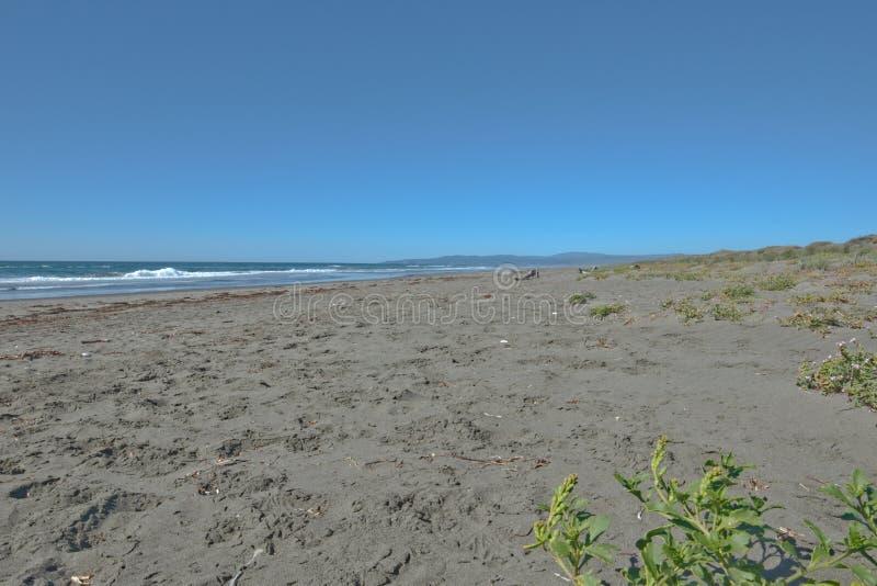 Παραλία στη παράλια Ειρηνικού σε βόρεια Καλιφόρνια στοκ φωτογραφία