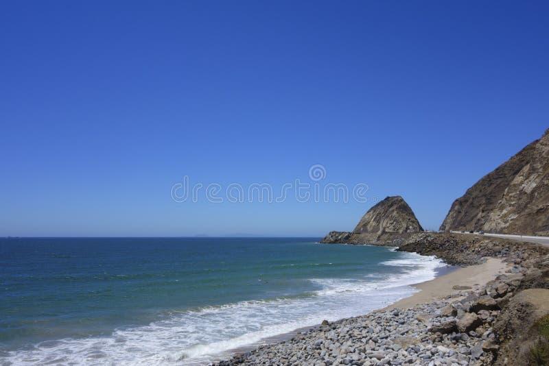 Παραλία στο σημείο Mugu, SoCal στοκ φωτογραφία με δικαίωμα ελεύθερης χρήσης