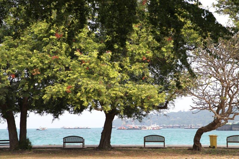 Παραλία στο khoa sichang στοκ φωτογραφία