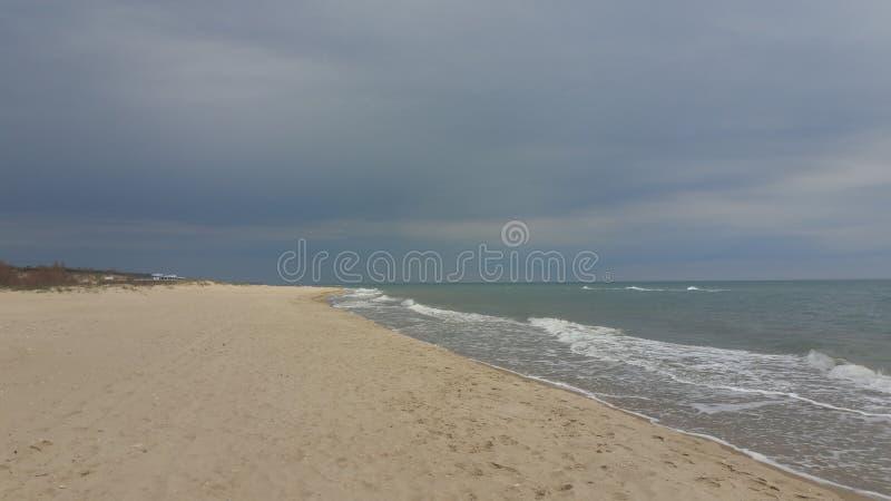 Παραλία την άνοιξη στοκ φωτογραφίες με δικαίωμα ελεύθερης χρήσης