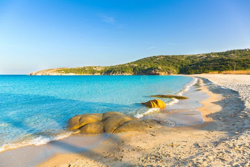 Παραλία της Σαρδηνίας, το Marmorata, Santa Τερέζα, Ιταλία στοκ φωτογραφία
