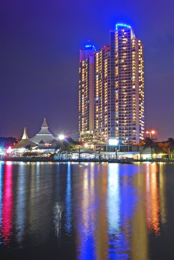 Παραλία της Τζακάρτα στοκ εικόνα