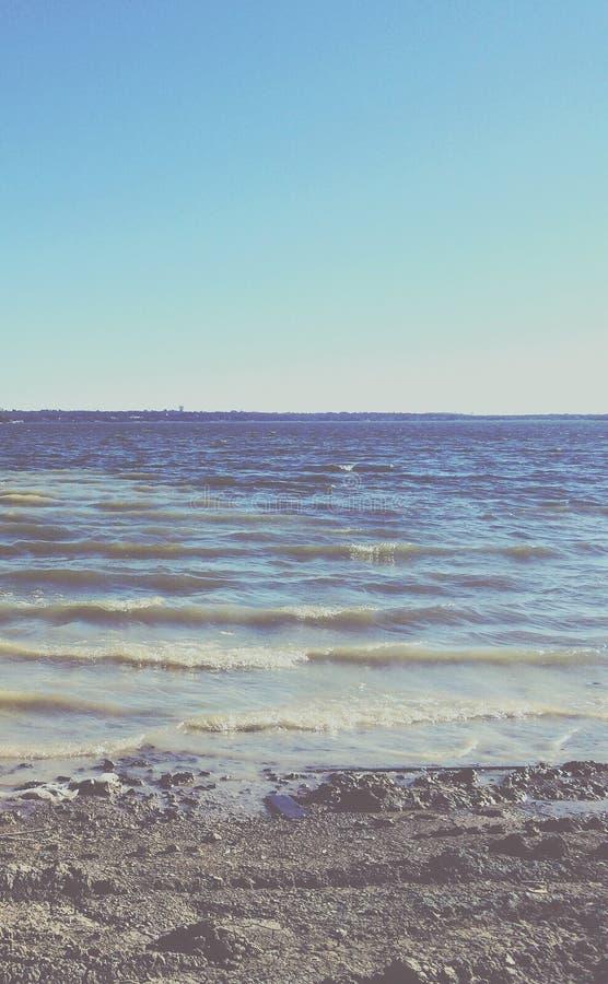 Παραλία του Άρλινγκτον λιμνών στοκ εικόνες