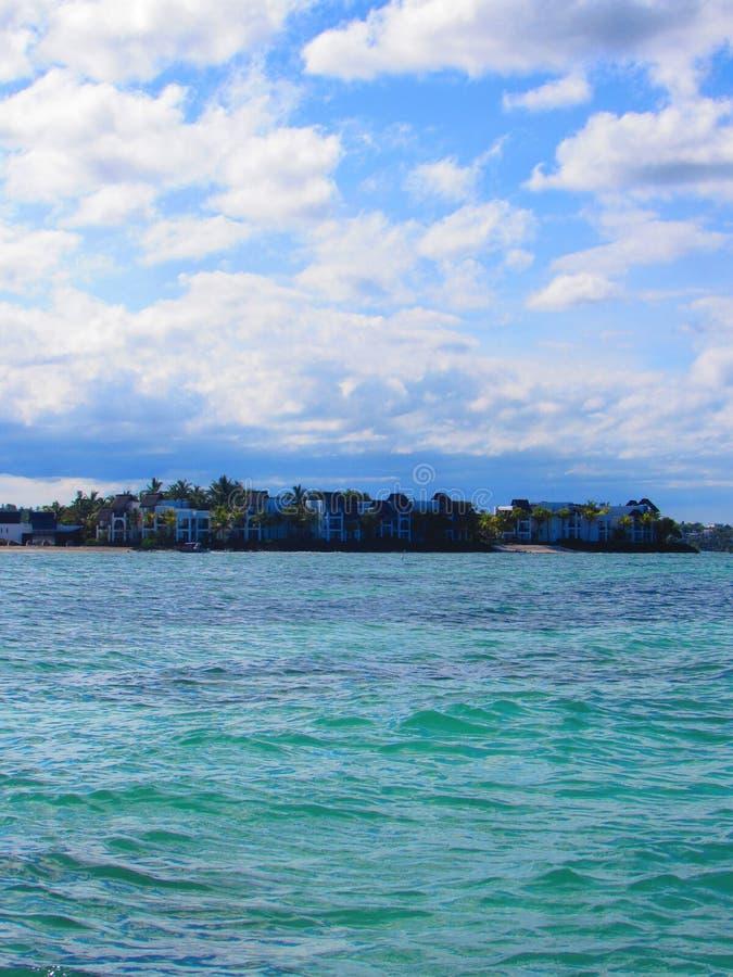 Παραλία του Μαυρίκιου στοκ φωτογραφία