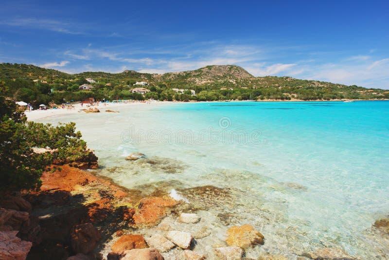 Παραλία του Πόρτο Istana, Σαρδηνία στοκ φωτογραφίες με δικαίωμα ελεύθερης χρήσης