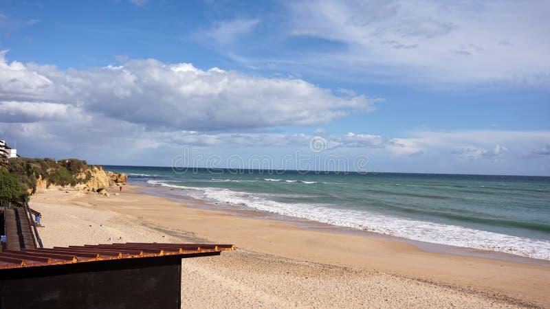 παραλία του oura στοκ εικόνες