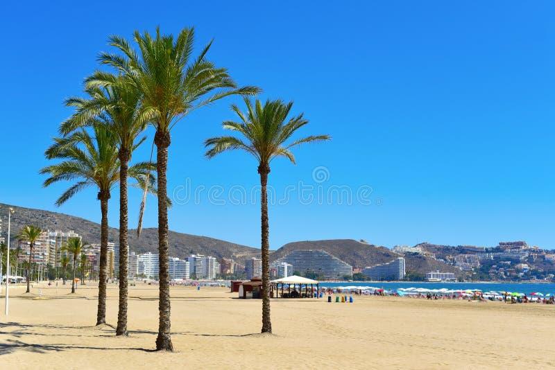 Παραλία του San Antonio Cullera, Ισπανία στοκ εικόνες με δικαίωμα ελεύθερης χρήσης