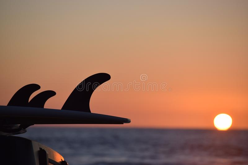 Παραλία των Μαύρων, Σαν Ντιέγκο στοκ εικόνα