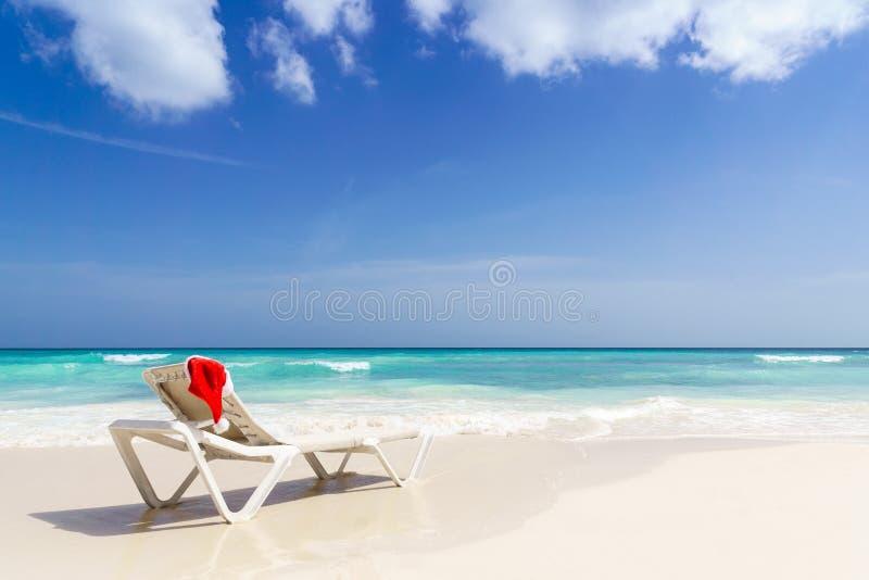 Παραλία Χριστουγέννων - διακοπές στοκ εικόνες