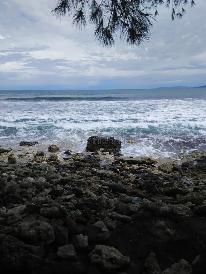 Παραλία Aceh στοκ εικόνες με δικαίωμα ελεύθερης χρήσης
