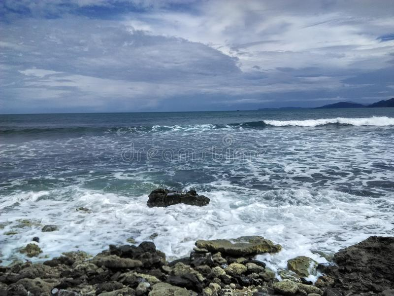Παραλία Aceh στοκ φωτογραφία με δικαίωμα ελεύθερης χρήσης