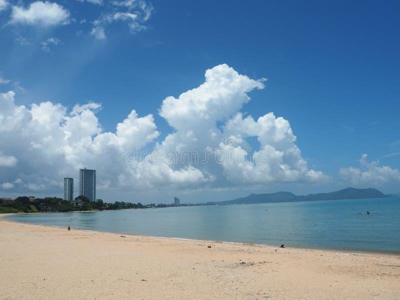 Παραλία Amphoe Baan στοκ εικόνες
