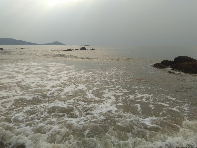 Παραλία Ankola στοκ φωτογραφία με δικαίωμα ελεύθερης χρήσης