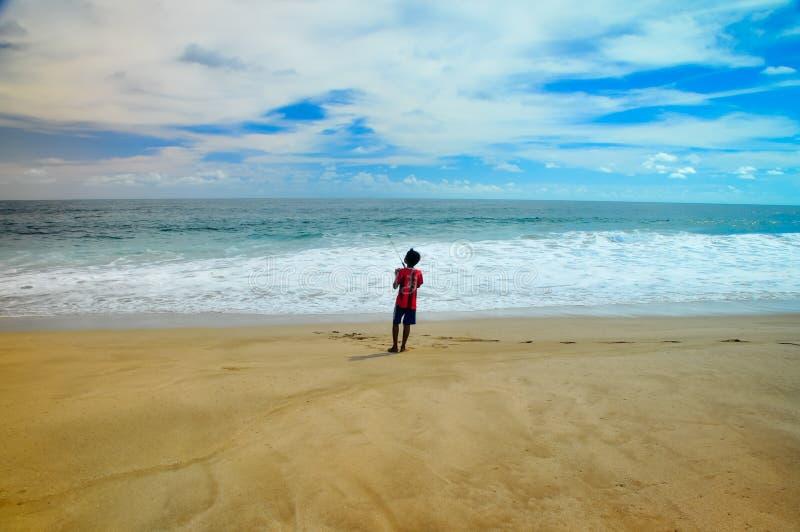 Παραλία Asri Lebak, Μαλάνγκ, Ινδονησία στοκ εικόνες