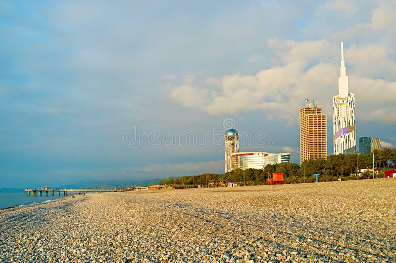 Παραλία Batumi, Γεωργία στοκ φωτογραφία με δικαίωμα ελεύθερης χρήσης