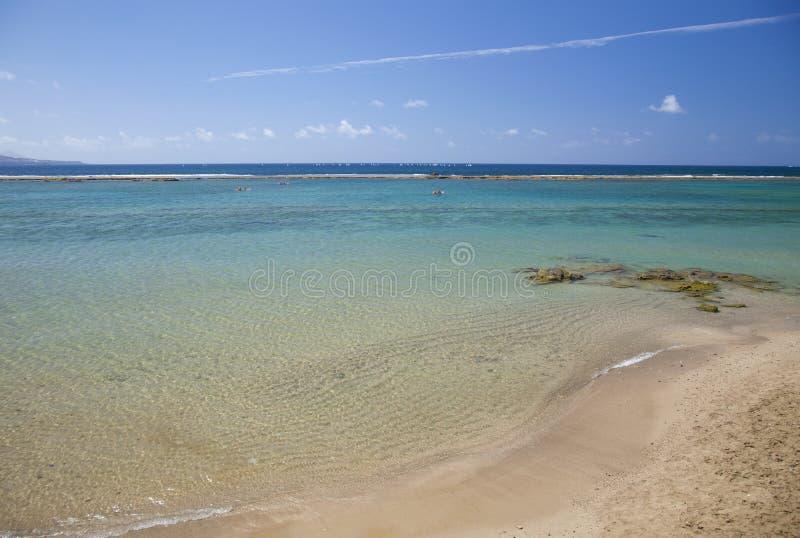 Παραλία Canteras Las, Las Palmas de θλγραν θλθαναρηα στοκ εικόνες
