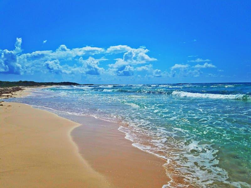Παραλία Cozumel στοκ εικόνες