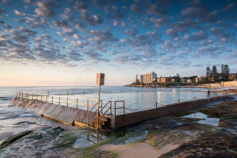 Παραλία Cronulla στοκ φωτογραφία