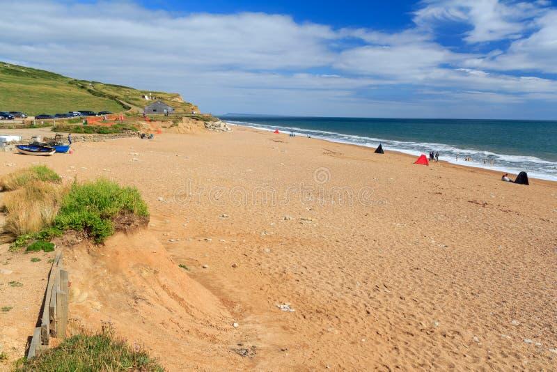 Παραλία Dorset Bradstock Burton στοκ φωτογραφία με δικαίωμα ελεύθερης χρήσης