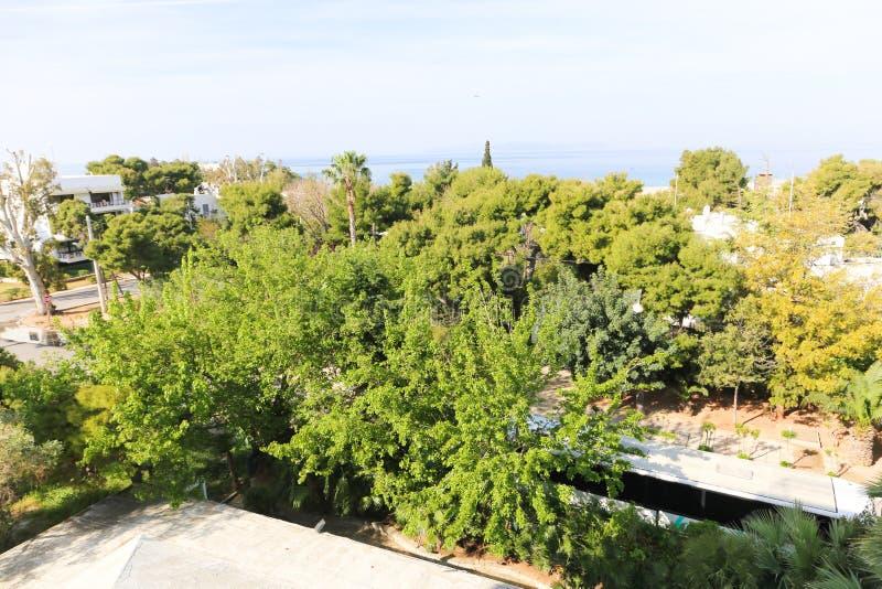 Παραλία Glyfada στην Ελλάδα στοκ φωτογραφία με δικαίωμα ελεύθερης χρήσης