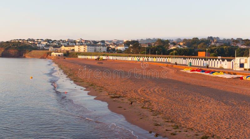 Παραλία Goodrington κοντά σε Paignton Devon Αγγλία στοκ φωτογραφία