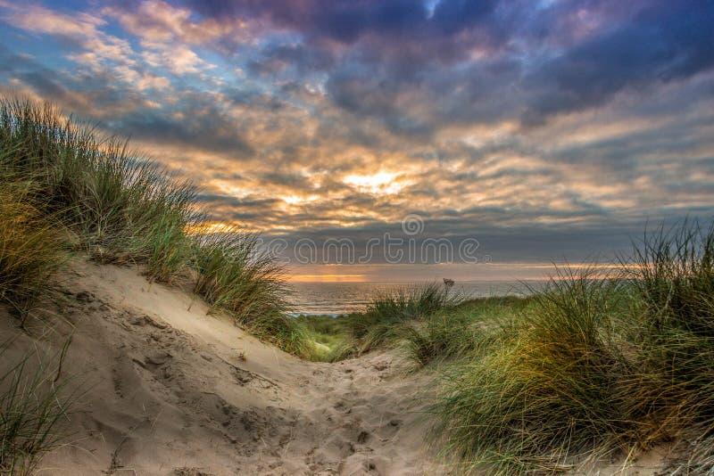 Παραλία Gower Llangennith στοκ φωτογραφία