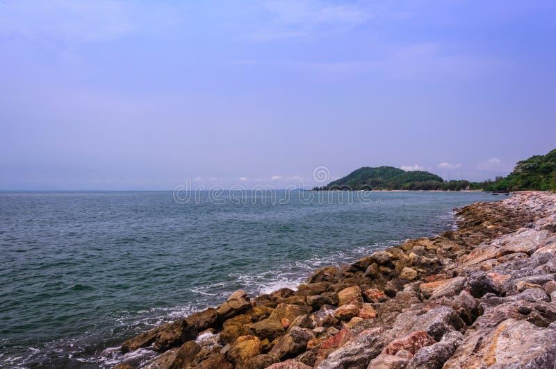 Παραλία Kebtawan στοκ εικόνες με δικαίωμα ελεύθερης χρήσης