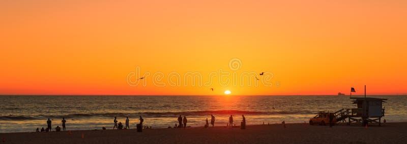 παραλία Los της Angeles στοκ φωτογραφία με δικαίωμα ελεύθερης χρήσης