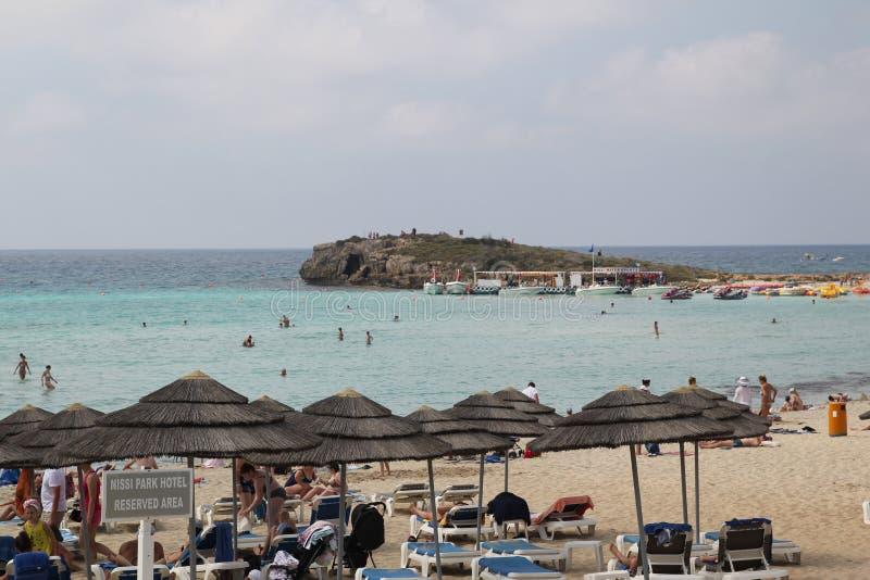 Παραλία Nissi στοκ εικόνες με δικαίωμα ελεύθερης χρήσης
