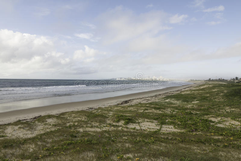 Παραλία Nova Redinha σε γενέθλιο, RN, Βραζιλία στοκ φωτογραφία με δικαίωμα ελεύθερης χρήσης