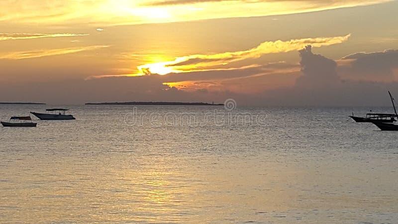 Παραλία Nungwe, Zimmie στοκ εικόνα με δικαίωμα ελεύθερης χρήσης