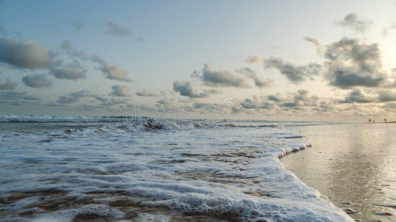 Παραλία Obama Cotonou, Μπενίν στοκ εικόνα με δικαίωμα ελεύθερης χρήσης