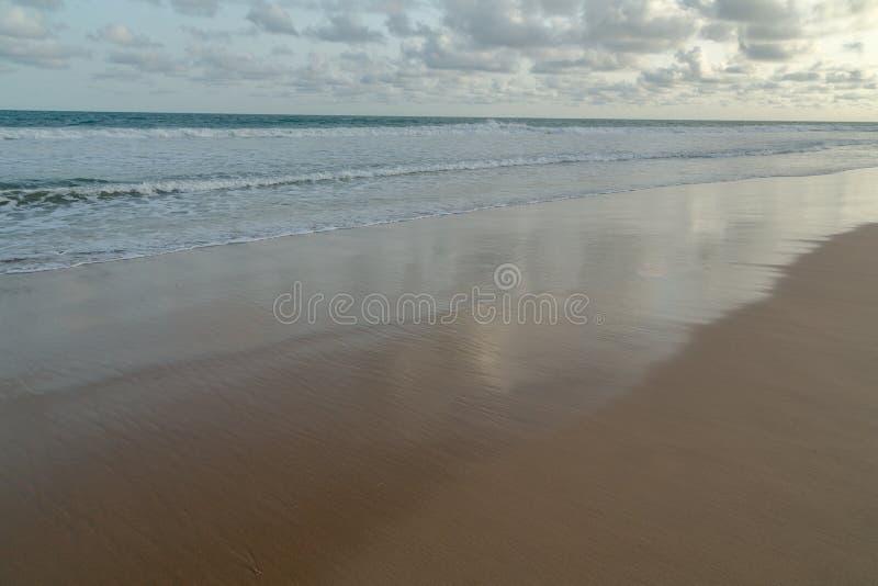 Παραλία Obama Cotonou, Μπενίν στοκ εικόνες
