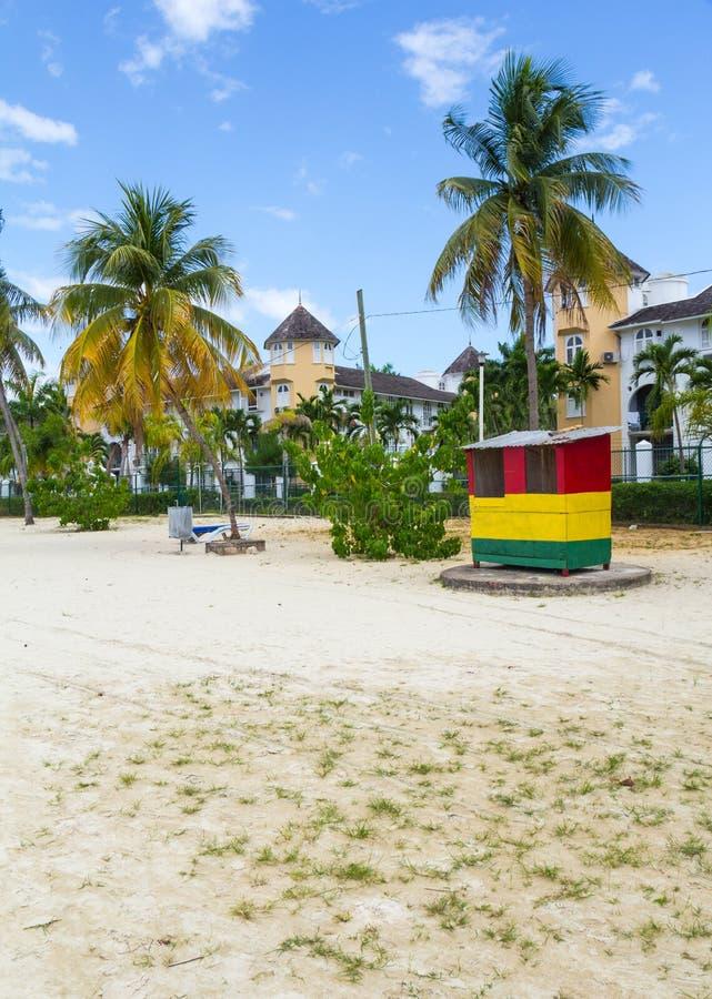 Παραλία Ocho Rios 2 της Τζαμάικας στοκ φωτογραφία