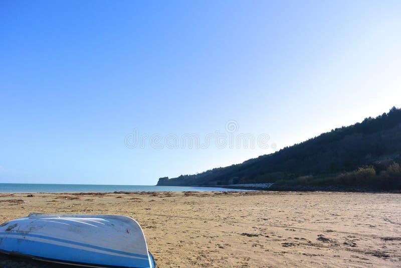 Παραλία Ortona (φυσική επιφύλαξη ακτών) στοκ εικόνα