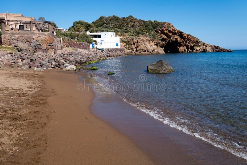 Παραλία Panarea στοκ φωτογραφία με δικαίωμα ελεύθερης χρήσης