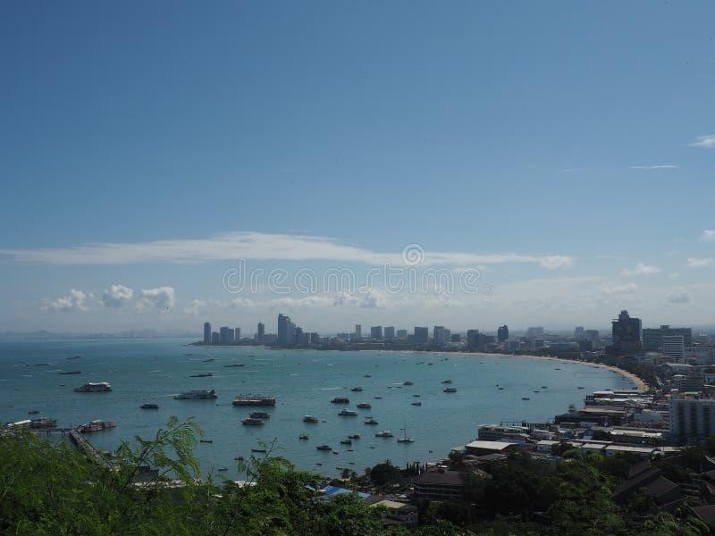 Παραλία Pattaya στοκ εικόνα με δικαίωμα ελεύθερης χρήσης