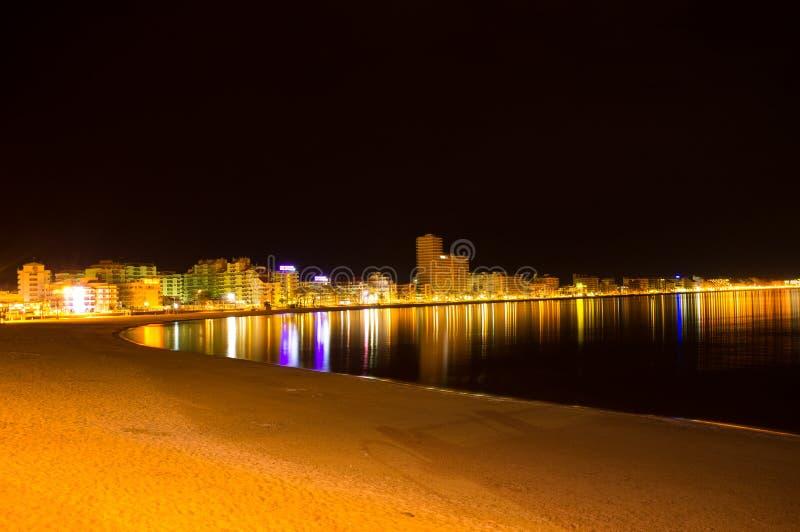 Παραλία Peniscola στοκ εικόνες