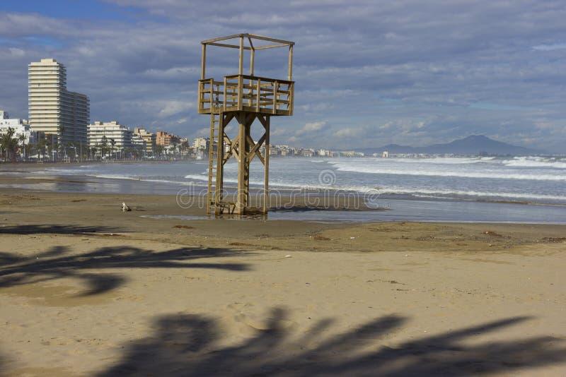 Παραλία Peniscola στοκ εικόνα