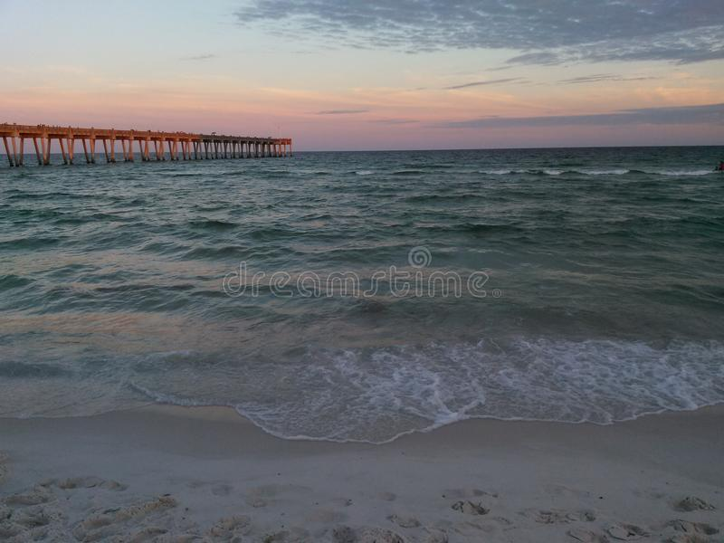 Παραλία Pensacola στοκ εικόνες