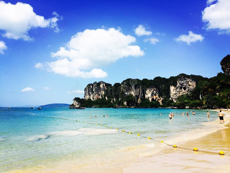 Παραλία Railey, Ταϊλάνδη στοκ φωτογραφία με δικαίωμα ελεύθερης χρήσης